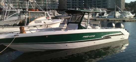 Our offshore deep sea Myrtle Beach fishing charter boat