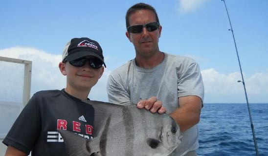 Myrtle Beach fishing charters inshore/nearshore fishing charters with Capt Ryan & Werner Ocean Adventures