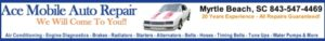 Auto Repair Myrtle Beach - AAA Ace Mobile Auto Repair